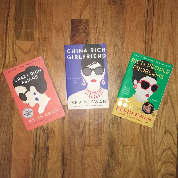 Crazy Rich Asians Trilogy - Books by Kevin Kwan